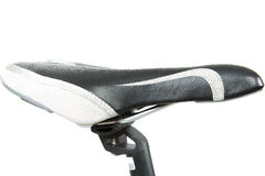 Bicycle seat on a white background. Stock Image