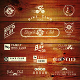 Bicycle set badges logos and labels for any use Royalty Free Stock Images