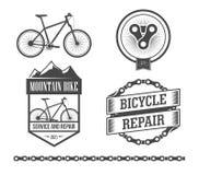 Bicycle set Royalty Free Stock Image