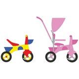 Bicycle set 01 Royalty Free Stock Image