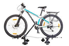 Bicycle setting with Roof Mounted Bike Carriers. Royalty Free Stock Photo