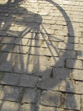 Bicycle Shadow Royalty Free Stock Image