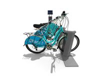 Bicycle Sharing concept Royalty Free Stock Images