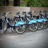Bicycle sharing London Royalty Free Stock Photography