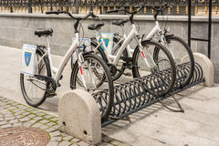 Bicycle Sharing System Royalty Free Stock Image