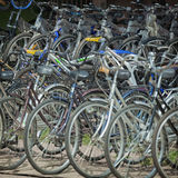 Bicycle shop Asia Royalty Free Stock Images