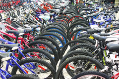 Bicycle shop Royalty Free Stock Photo