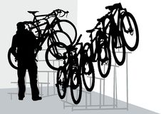 Bicycle Shops Royalty Free Stock Photography
