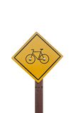Bicycle sign. Royalty Free Stock Images