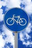 Bicycle sign Stock Photos