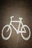Bicycle sign Stock Photos