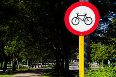 Bicycle Signal Royalty Free Stock Images