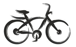 Bicycle. Royalty Free Stock Images