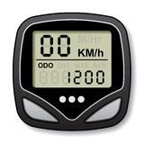 Bicycle speedometer computer Royalty Free Stock Photography