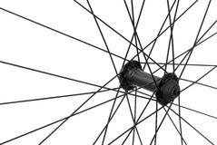 Bicycle spoke detail Royalty Free Stock Photography