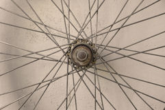 Bicycle spoke wheel Stock Photos