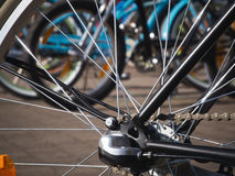 Bicycle spokes Royalty Free Stock Photography