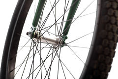 Bicycle spokes Royalty Free Stock Image