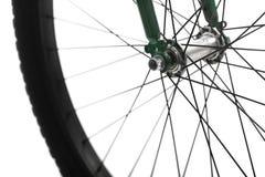 Bicycle spokes Stock Image