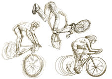 Bicycle sport Royalty Free Stock Photo