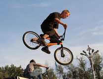 Bicycle sport BMX cycling Royalty Free Stock Photo