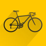 Bicycle sport icon Royalty Free Stock Photo