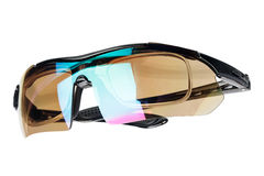 Bicycle sport sunglasses Royalty Free Stock Photography