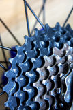 Bicycle sprocket Royalty Free Stock Photos