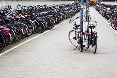 Bicycle station Royalty Free Stock Photography