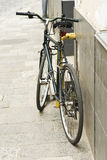 Bicycle on street Royalty Free Stock Photography