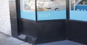 Bicycle Studio & Shop Stock Photography