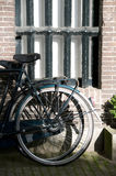 Bicycle sunlight amsterdam Stock Photo