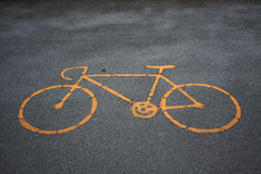 Bicycle symbol Stock Photography