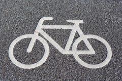 Bicycle symbol Stock Photo