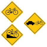 Bicycle symbol Stock Photo