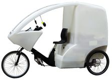 Bicycle taxi Stock Images