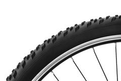 Bicycle tire Stock Photo
