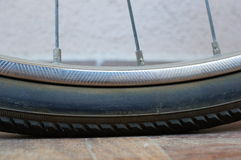Bicycle tire Stock Photography