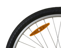 Bicycle tire detail Stock Image