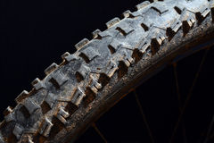 Bicycle tire Royalty Free Stock Photos
