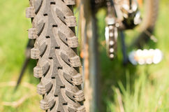 Bicycle tire Stock Images