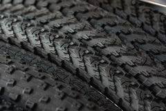 Bicycle tires Royalty Free Stock Photo