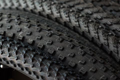 Bicycle tires Royalty Free Stock Photos