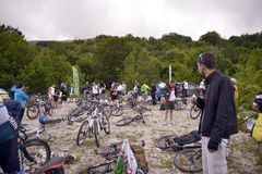 Bicycle Tour Stock Photos