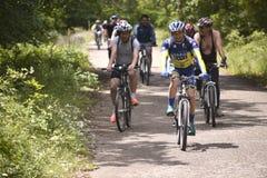Bicycle Tour Royalty Free Stock Image