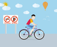 Bicycle tourism sport Stock Images