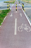 Bicycle track Stock Photography
