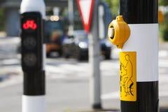 Bicycle traffic light Stock Photo