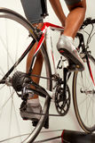 Bicycle training Royalty Free Stock Images