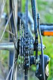 Bicycle transmission Royalty Free Stock Photography